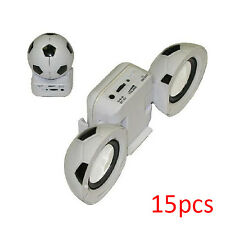 15x USB Powered Portable Fold-up Soccer-Ball Style Mini Speaker Amplifier System