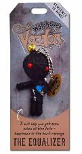 """The Equalizer"" Watchover Voodoo Doll - Keychain, Bag Charm, Good Wishes"