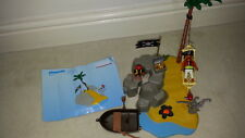 Playmobil - 4139 - Pirates Island Compact Set - 2007 -Pirate Goonies Hook