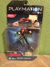 DISNEY PLAYMATION MARVEL Avengers BLACK WIDOW Hero Smart Figure New