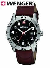 NEW WENGER SWISS ARMY  mens Watch  Grenadier 0741.103   $195 tag black nwt