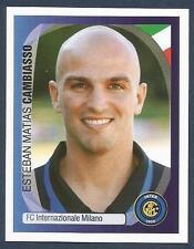 PANINI UEFA CHAMPIONS LEAGUE 2007-08- #173-INTER-ESTEBAN MATIAS CAMBIASSO