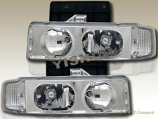 1995-2005 CHEVY ASTRO VAN / GMC SAFARI CRYSTAL CLEAR HEADLIGHTS