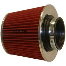 Universal Red Finish Car Air Filter Induction Kit High Power Sports Mesh Cone BN