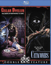 Cellar Dweller/Catacombs Double Feature (Blu-ray Disc, 2015)