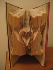 LIBRO ARTE PIEGHEVOLE MODELLO LOVE GATTI 268 PIEGHE. # 047