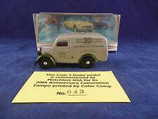 Scarce Code 2 Dinky DY-4 1950 Ford E83W 10 CWT Van MatchBox USA 20th Anniversary