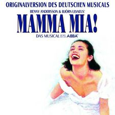 MAMMA MIA MUSICAL CD DEUTSCHE ORIGINALVERSION NEU!!!!!!