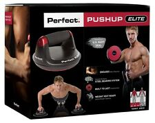 New Perfect Pushup V2 Elite Push Up Stands Bars Rotating Handles Muscle Building