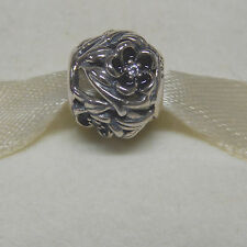 Authentic Pandora 791419cz Charm Mystic Floral Clear Box Included