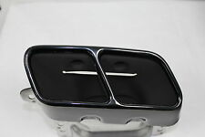 Genuine Mercedes-Benz BLACK AMG A45 Performance Exhaust Tips A-Class W176 NEW
