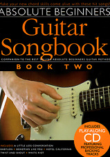 Absolute Beginners Guitar Songbook Book 2 Sheet Music & CD -  Companion Pop Rock