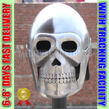 MEDIEVAL ARMOR SKELETON HELMET MOVIE SKULL ROMAN GREEK KNIGHT SPARTAN NK1702