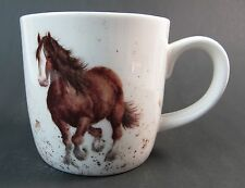 "Royal Worcester Horse Mug ""Gigi""  Draught Horse Fine Bone China Wrendale Boxed"