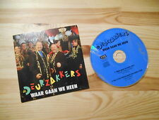 CD Schlager De Deurzakkers - Waar Gaan We Heen (2 Song) WVS MUSIC