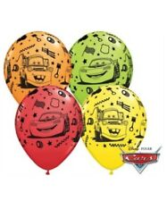 "Disney Cars 11"" Latex Balloons x 5 Boy Girl Birthday Party Decoration Supplies"