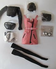 FASHION ROYALTY NU FACE RECKLESS MAD LOVE RAYNA COMPLETE OUTFIT ONLY