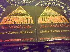 **Limited Edition** INWO ILLUMINATI CARD GAME 1994  Starter Set NIB never opened