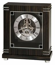 "635-177  HOWARD MILLER MANTEL CLOCK ""BATAVIA"" WITH ""SKELETON"" LOOK"