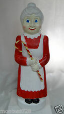 "40"" Union Don Featherstone Mrs. Claus Lighted Christmas Blow Mold Outdoor #1"