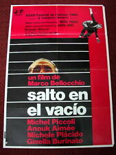 A LEAP IN THE DARK Orig Movie Poster MICHEL PICCOLI ANOUK AIMEE GISELLA BURINATO