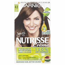 GARNIER NUTRISSE CREME 4.3 CAPPUCINO DARK GOLDEN BROWN HAIR COLOUR