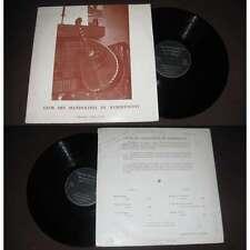 CLUB DES MANDOLINES DE REMIREMONT LP French Private Folk Classical