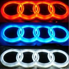4D Car Led Real Logo Light Auto Badge Light Emblem Tail Lamp For AUDI A3 A6 Q3Q5