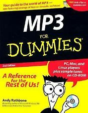 MP3 For Dummies (For Dummies (Computers)), Rathbone, Andy, Acceptable Book
