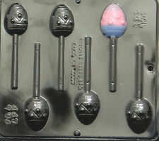 Easter Egg Lollipop Chocolate Candy Mold Easter  861 NEW