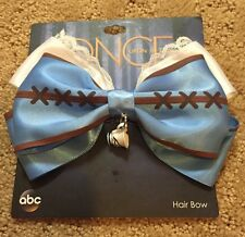 ABC Disney Once Upon A Time Belle Tea Cup Cosplay Hair Bow Tie Clip Gift NWT!