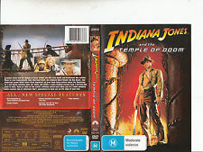 Indiana Jones:And The Temple od Doom-1984-Harrison Ford-Movie-DVD