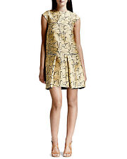 Stella McCartney Python-Print Flounce Thigh Length Dress