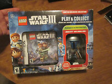 NEW LEGO Star Wars III 3 Clone Wars Nintendo DS with Jango Fett Funko POP Vinyl