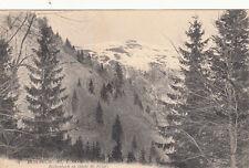 LE HOHNECK frontière d'alsace rothenbach en temps de neige