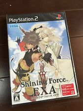 New & Factory Sealed* PS2 Shining Force EXA NTSC-J Japan