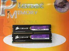 Corsair xms 4GB 2X2GB DDR2 PC2-6400 800MHz 240p NON ECC CM2X2048-6400C5 ver3.3
