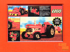 "Lego Technic Tractor 2x3"" fridge/locker magnet box art 851"
