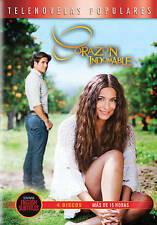 Corazon Indomable, New DVDs