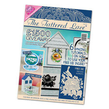 Tattered Lace Magazine Issue 25 + Free Precious Moments Die + Free 1st Class p&p
