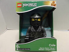 Lego #9001154 Cole Ninjago Masters Of Spinjitzu Alarm Clock New Sealed 2012!