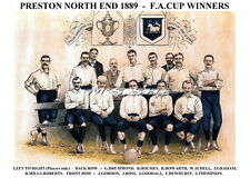 Preston North End F.C. PNE 1889 F.A. Cup Winners FA