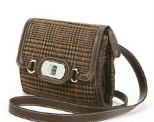 NEW ARRIVAL CHAPS RALPH LAUREN BLAIR BEDFORD PLAID CROSSBODY SLING BAG PURSE $59