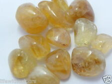 Natural Real Citrine tumbled stones Citrine tumbles Citrine Tumble 50 grams