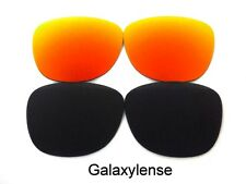 Replacement Lenses For Ray Ban RB2140 Original Wayfarer Black/Red 54mm Polarized