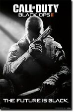 POSTER 5798 C1 PI 22 X 34 CALL OF DUTY BLACK OPS II STEALTH THE FUTURE IS BLACK