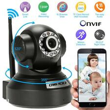 OWSOO HD 720P Wifi CCTV Security IP Camera TF Card Slot Motion Detection EU S5E9