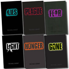 Gone Series Collection 6 Books Set by Michael Grant (Light, Plague, Hunger, Gon