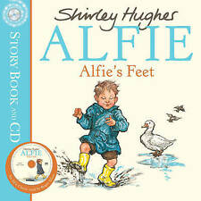 NEW -  ALFIE'S FEET book and CD  (by Shirley Hughes) Alfies