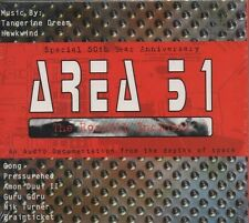 VARIOUS ARTISTS Area 51 (The Roswell Incident) DOUBLE CD ALBUM  NEW - SEALED